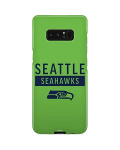 Seattle Seahawks Green Performance Series Galaxy Note 8 Lite Case