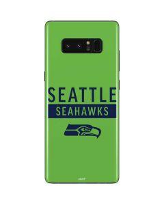 Seattle Seahawks Green Performance Series Galaxy Note 8 Skin