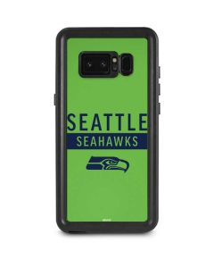 Seattle Seahawks Green Performance Series Galaxy Note 8 Waterproof Case