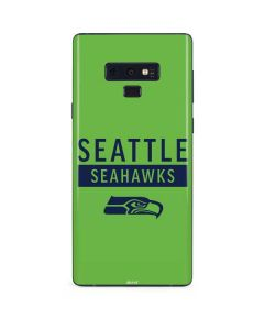 Seattle Seahawks Green Performance Series Galaxy Note 9 Skin