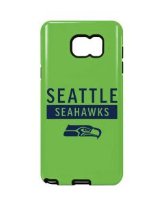 Seattle Seahawks Green Performance Series Galaxy Note5 Pro Case