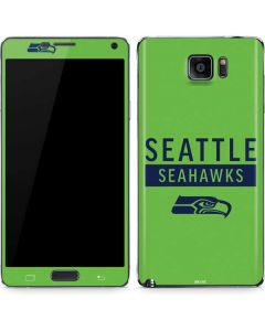 Seattle Seahawks Green Performance Series Galaxy Note5 Skin