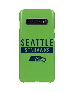 Seattle Seahawks Green Performance Series Galaxy S10 Lite Case