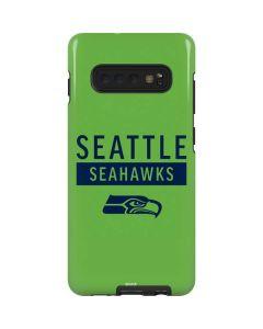 Seattle Seahawks Green Performance Series Galaxy S10 Plus Pro Case