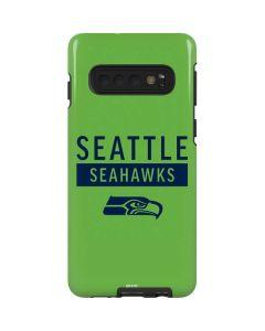 Seattle Seahawks Green Performance Series Galaxy S10 Pro Case