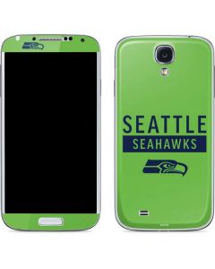 Seattle Seahawks Green Performance Series Galaxy S4 Skin