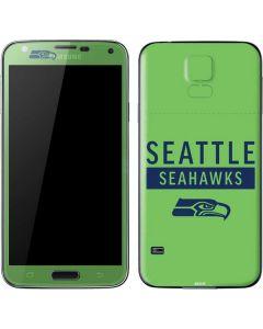 Seattle Seahawks Green Performance Series Galaxy S5 Skin