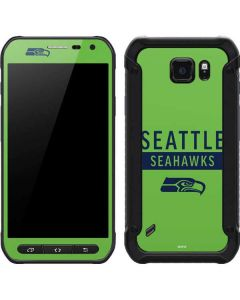 Seattle Seahawks Green Performance Series Galaxy S6 Active Skin