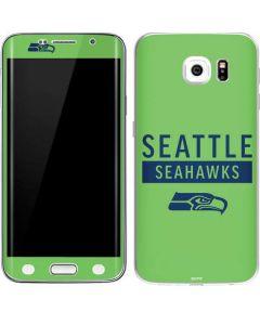 Seattle Seahawks Green Performance Series Galaxy S6 Edge Skin