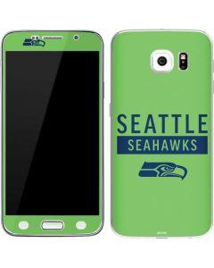 Seattle Seahawks Green Performance Series Galaxy S6 Skin