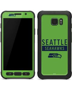 Seattle Seahawks Green Performance Series Galaxy S7 Active Skin