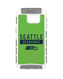 Seattle Seahawks Green Performance Series Galaxy S7 Cargo Case
