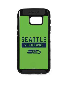 Seattle Seahawks Green Performance Series Galaxy S7 Edge Cargo Case