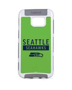 Seattle Seahawks Green Performance Series Galaxy S7 Edge Cargo Case