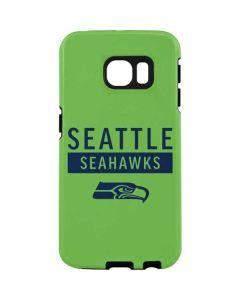 Seattle Seahawks Green Performance Series Galaxy S7 Edge Pro Case