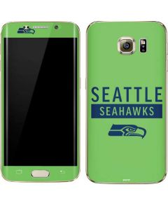 Seattle Seahawks Green Performance Series Galaxy S7 Edge Skin
