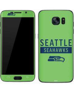 Seattle Seahawks Green Performance Series Galaxy S7 Skin