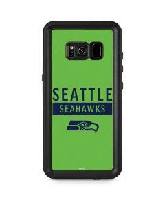 Seattle Seahawks Green Performance Series Galaxy S8 Plus Waterproof Case