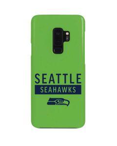 Seattle Seahawks Green Performance Series Galaxy S9 Plus Lite Case