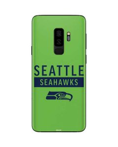 Seattle Seahawks Green Performance Series Galaxy S9 Plus Skin