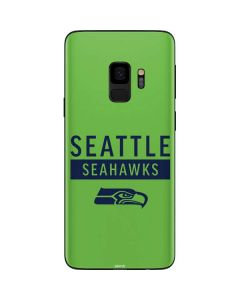 Seattle Seahawks Green Performance Series Galaxy S9 Skin