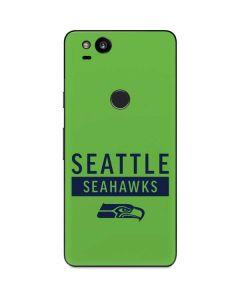 Seattle Seahawks Green Performance Series Google Pixel 2 Skin