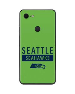 Seattle Seahawks Green Performance Series Google Pixel 3 XL Skin