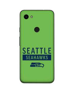 Seattle Seahawks Green Performance Series Google Pixel 3a Skin