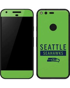 Seattle Seahawks Green Performance Series Google Pixel Skin