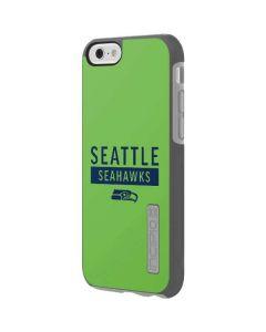Seattle Seahawks Green Performance Series Incipio DualPro Shine iPhone 6 Skin