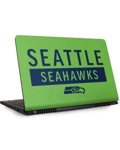 Seattle Seahawks Green Performance Series Dell Inspiron Skin