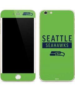 Seattle Seahawks Green Performance Series iPhone 6/6s Plus Skin