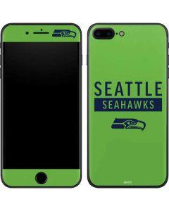 Seattle Seahawks Green Performance Series iPhone 7 Plus Skin