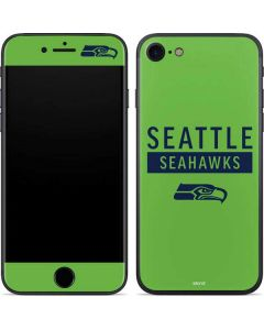 Seattle Seahawks Green Performance Series iPhone 7 Skin