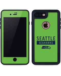Seattle Seahawks Green Performance Series iPhone 8 Plus Waterproof Case