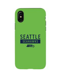 Seattle Seahawks Green Performance Series iPhone X Pro Case