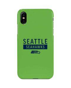 Seattle Seahawks Green Performance Series iPhone XS Lite Case