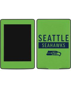 Seattle Seahawks Green Performance Series Amazon Kindle Skin