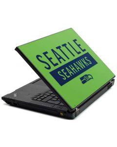 Seattle Seahawks Green Performance Series Lenovo T420 Skin