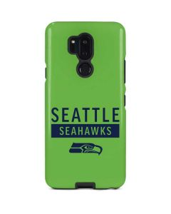Seattle Seahawks Green Performance Series LG G7 ThinQ Pro Case