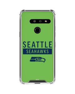Seattle Seahawks Green Performance Series LG G8 ThinQ Clear Case