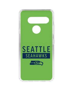 Seattle Seahawks Green Performance Series LG V40 ThinQ Clear Case