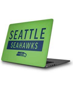 Seattle Seahawks Green Performance Series Apple MacBook Pro Skin