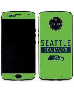 Seattle Seahawks Green Performance Series Moto X4 Skin