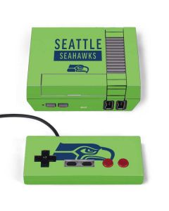 Seattle Seahawks Green Performance Series NES Classic Edition Skin