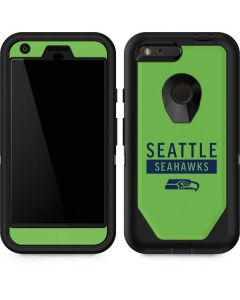 Seattle Seahawks Green Performance Series Otterbox Defender Pixel Skin