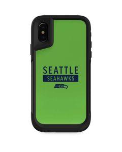 Seattle Seahawks Green Performance Series Otterbox Pursuit iPhone Skin