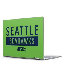 Seattle Seahawks Green Performance Series Pixelbook Skin
