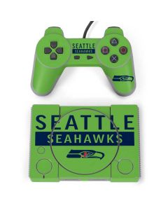 Seattle Seahawks Green Performance Series PlayStation Classic Bundle Skin