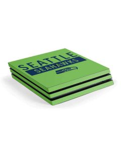 Seattle Seahawks Green Performance Series PS4 Pro Console Skin